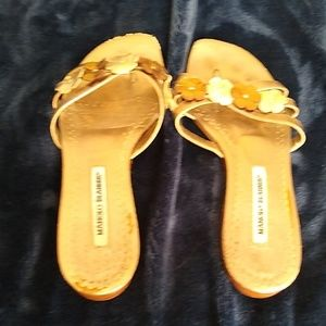 Manolo Thong Sandals